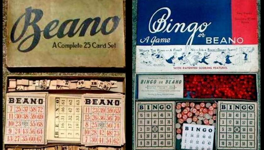 Bingo and Beano Cards